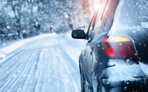 conducción segura nieve