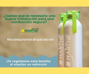 Hidratación para una conducción segura